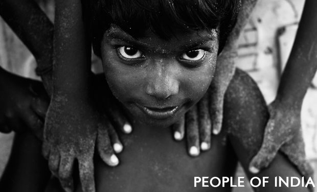 Visueel van project People of India - Exposition