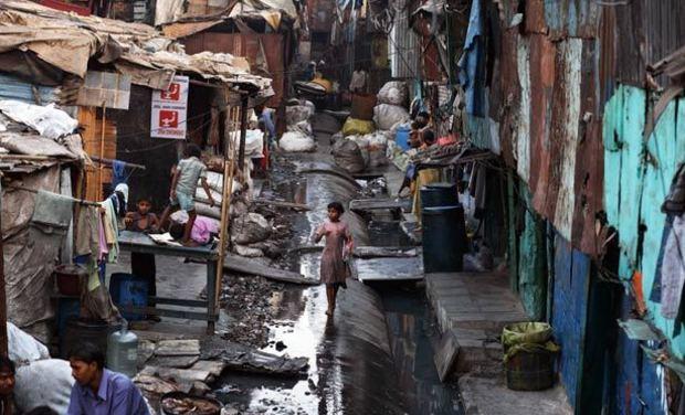 Visueel van project 2 mois en Inde pour un reportage, dans la cité de la joie.
