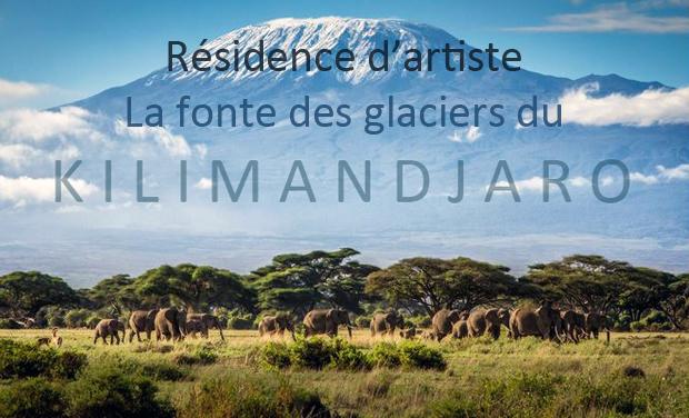 Visuel du projet Résidence d'artiste sur la fonte des glaciers du Kilimandjaro