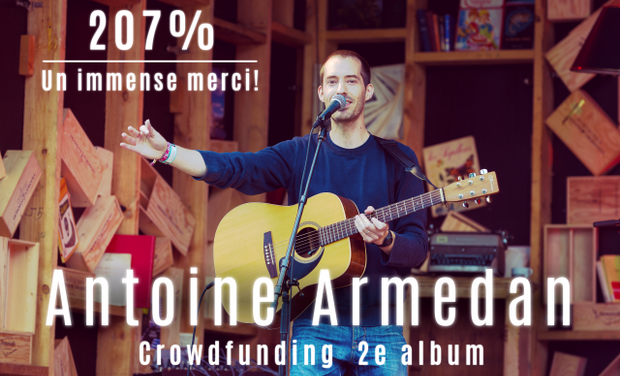 Visuel du projet Antoine Armedan - 2e album