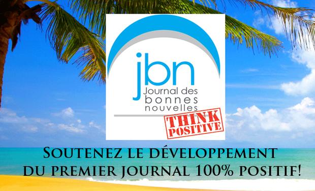 Visueel van project LE JOURNAL DES BONNES NOUVELLES