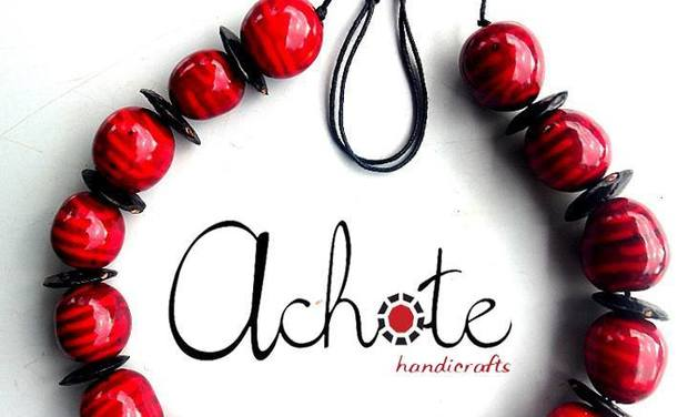 Visuel du projet Help us to go First time on The Fair with Achote Handicrafts