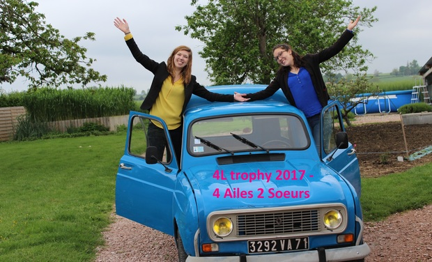 Visueel van project 4L Trophy 2017 - Manon et Mathilde
