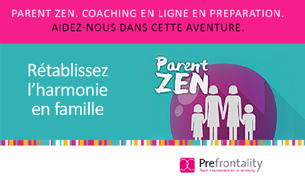 Project visual Parent Zen : coaching en 20 capsules video !