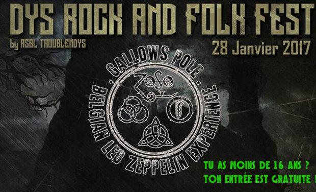 Visuel du projet Dys Rock and Folk Fest