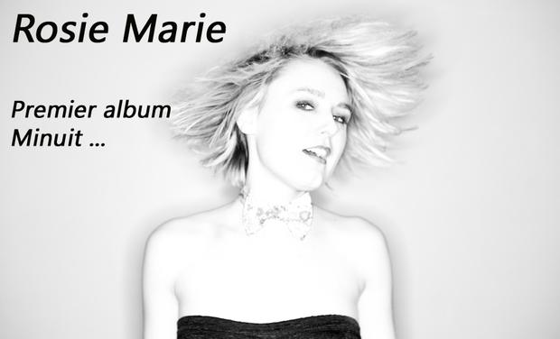 """Visuel du projet Rosie Marie """" Premier Album- Minuit ..."""""""