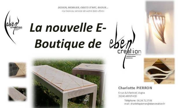 Project visual La nouvelle e-boutique Eben'creation