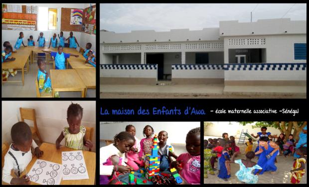 Visuel du projet Soutenez l'école des enfants d'Awa au Sénégal
