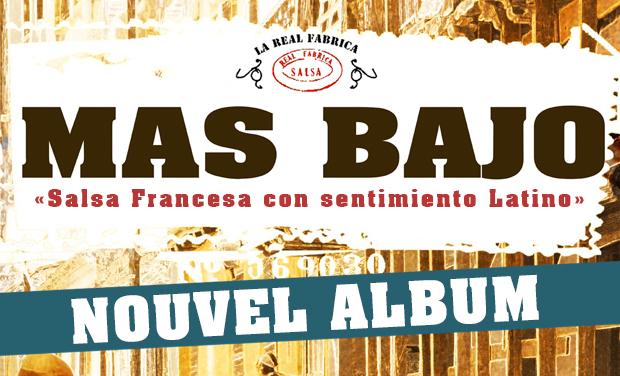 Visueel van project MAS BAJO - NOUVEL ALBUM