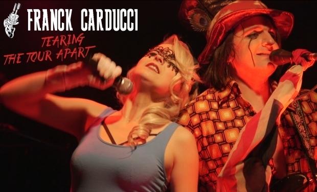 Visuel du projet Franck Carducci Band Live DVD