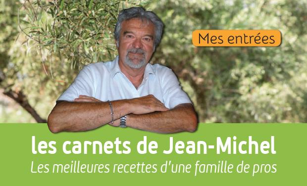 Visuel du projet Les carnets de cuisine de Jean-Michel