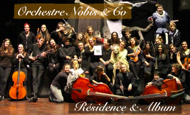 Visueel van project Orchestre Nobis & Co : Résidence & Album