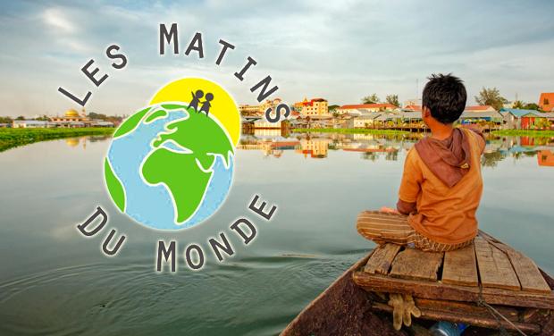 """Visueel van project """"Les matins du monde"""" : améliorer le quotidien des enfants de Phnom Penh"""