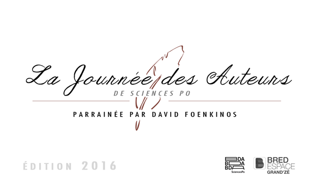 Visuel du projet Journée des auteurs 2016