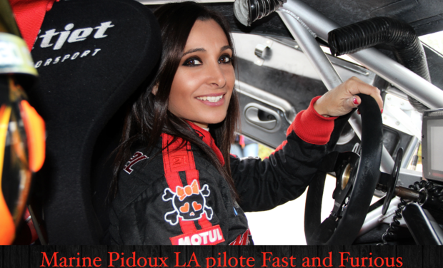 Visueel van project Marine Pidoux LA Pilote Fast and Furious