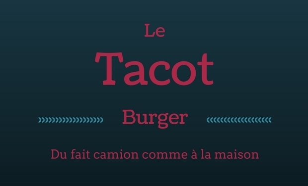 Project visual Le Tacot Burger premier Foodtruck de l'Andelle