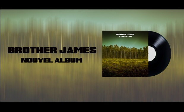 Visuel du projet Aidez BROTHER JAMES à finaliser son NOUVEL ALBUM