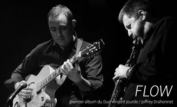 Visueel van project Enregistrement de l'Album Flow du Duo Vincent Jourde/ Joffrey Drahonnet