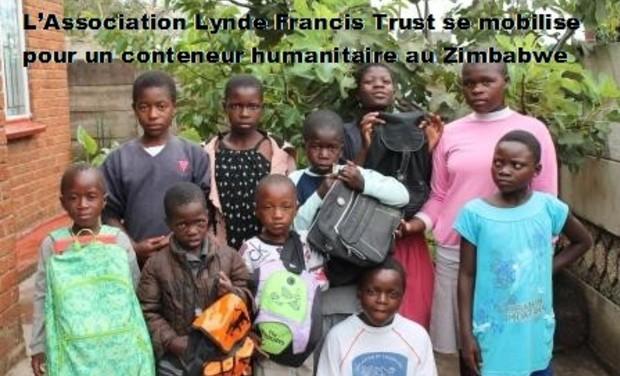 Visueel van project L'Association Lynde Francis Trust se mobilise pour un conteneur humanitaire au Zimbabwe