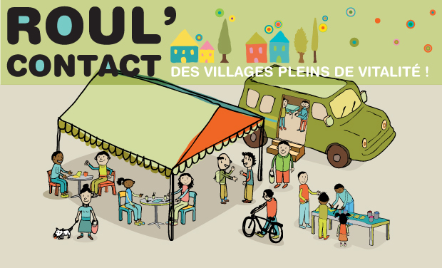 Project visual Roul'Contact