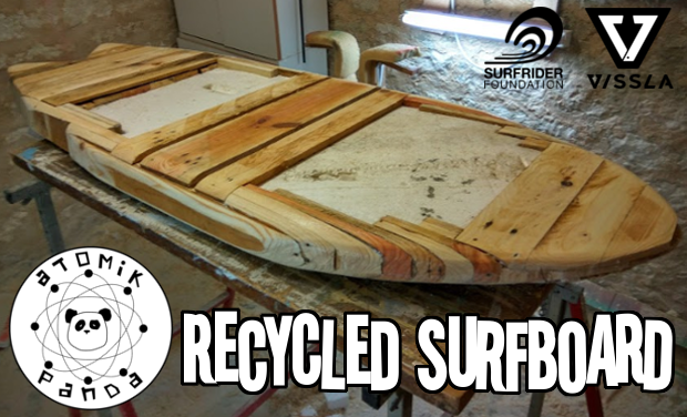 Visuel du projet Recycled Surfboard - A trip to innovation