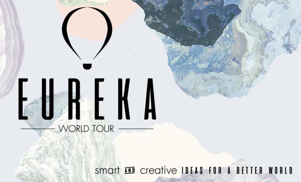 Visueel van project EUREKA - World Tour 2017 : des idées pour un monde meilleur !
