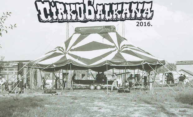 Project visual let's buy a circus tent for Cirkobalkana!