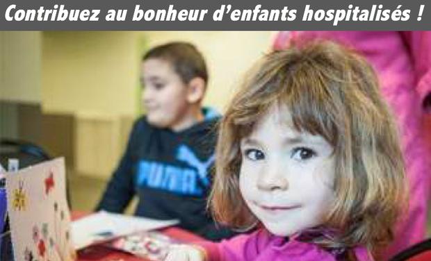 Visuel du projet Contribuez au bonheur d'enfants hospitalisés!