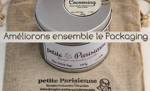 Visuel du projet Amélioration du packaging - Bougies petite Parisienne