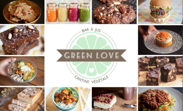Visuel du projet GREEN LOVE : Bar à Jus Bio & Cantine 100% Végétale