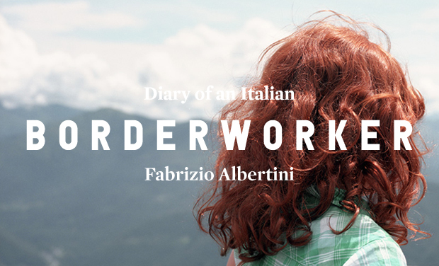 Project visual Diary of an Italian Borderworker