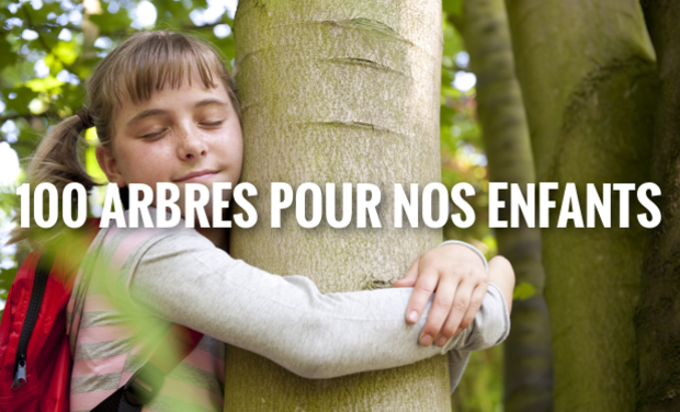 Visuel du projet 100 arbres pour nos enfants