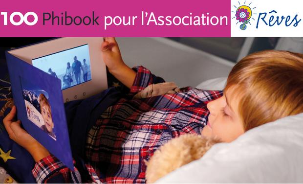 Visuel du projet 100 Phibook pour 1000 sourires d'enfants