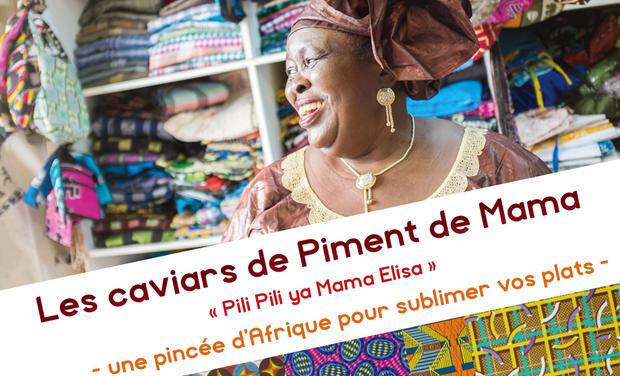 Visueel van project Les caviars de piment de Mama