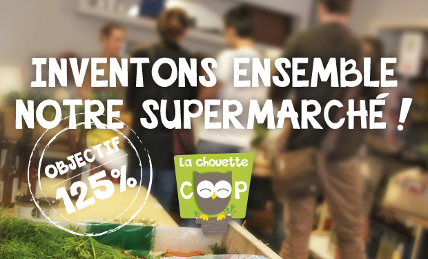 Visuel du projet La Chouette Coop : votre supermarché coopératif et participatif