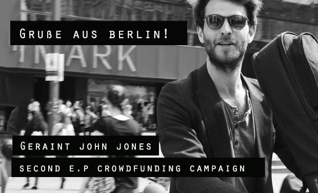 Project visual Geraint John Jones... Second EP