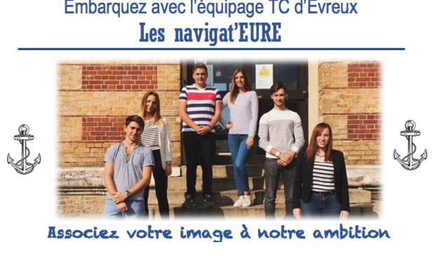 Project visual Embarquez avec l'équipage TC d'Evreux : Associez-vous à notre ambition