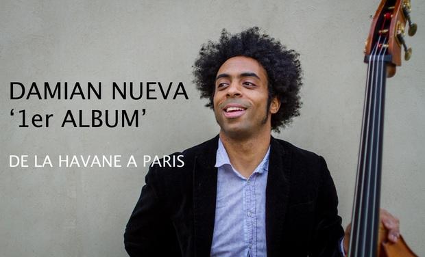 """Visuel du projet DAMIAN NUEVA - 1er Album """"De la Havane à Paris"""""""