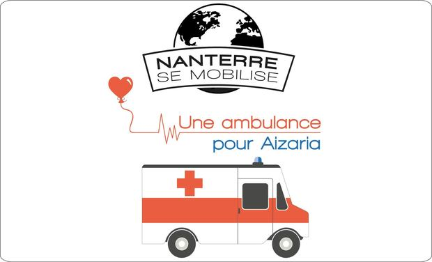Project visual Une ambulance pour Aizaria