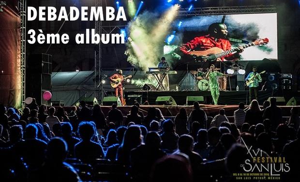 Visuel du projet Debademba 3ème album