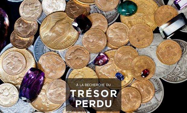 Visueel van project À la recherche du trésor perdu