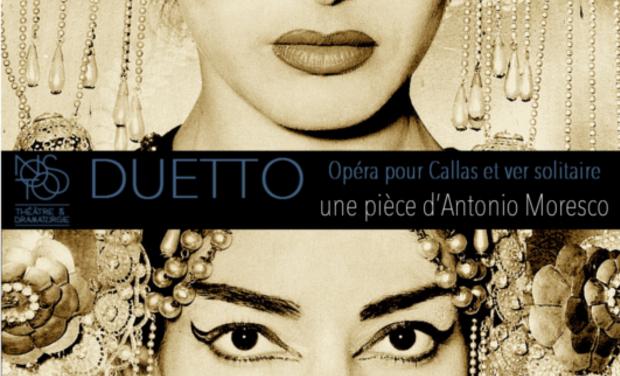 Visuel du projet Duetto, opéra pour Callas et ver solitaire