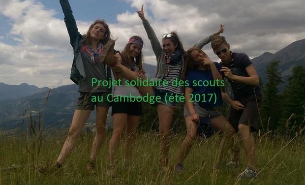 Visueel van project Projet Solidaire des Scouts au Cambodge 2017
