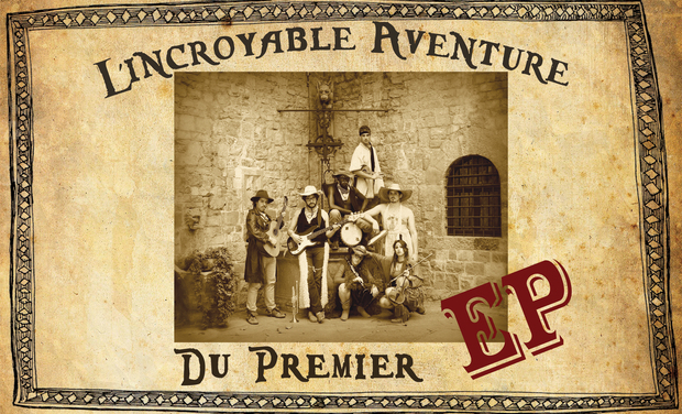 Project visual l'Incroyable Aventure du premier EP