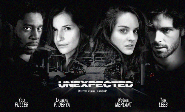 "Visueel van project ""Unexpected"" short movie"