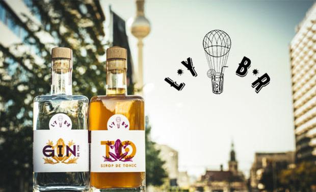Visuel du projet LYBR, Gin de vin + Sirop de Tonic : Le Gin-To revisité