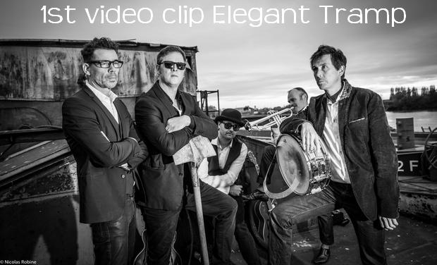 Visuel du projet 1st video clip from Elegant Tramp