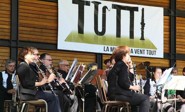 Visuel du projet TUTTI, la musique à vent tout