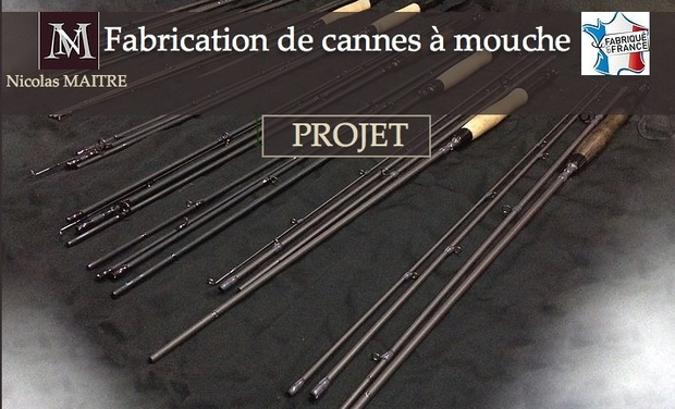 "Visuel du projet Fabrication de cannes à mouches carbone, ""Made in France"""