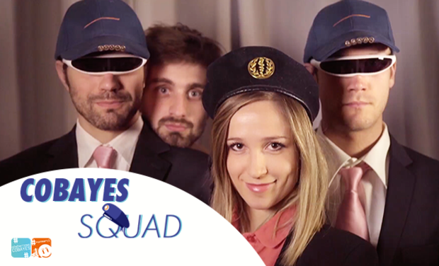 Visueel van project COBAYES SQUAD, la web série qui te veut du bien